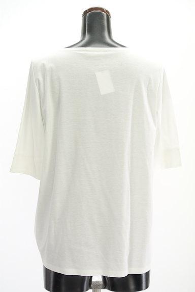 UNTITLED(アンタイトル)の古着「裾リボン5分袖カットソー(Tシャツ)」大画像2へ