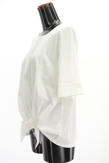 UNTITLED(アンタイトル)の古着「裾リボン5分袖カットソー(Tシャツ)」大画像3へ