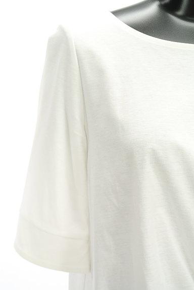 UNTITLED(アンタイトル)の古着「裾リボン5分袖カットソー(Tシャツ)」大画像4へ