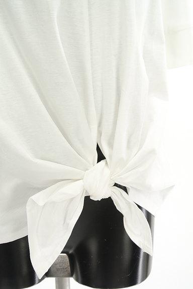 UNTITLED(アンタイトル)の古着「裾リボン5分袖カットソー(Tシャツ)」大画像5へ