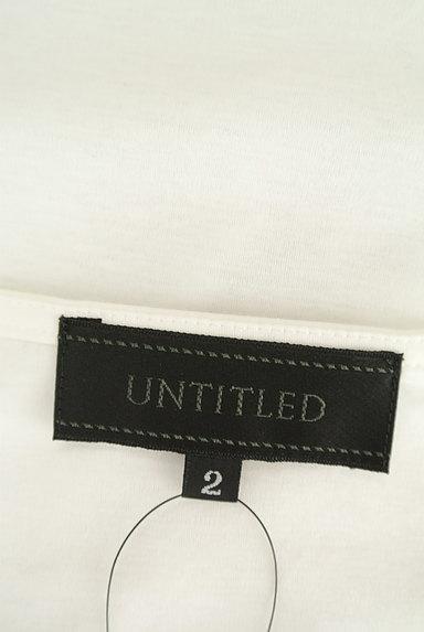 UNTITLED(アンタイトル)の古着「裾リボン5分袖カットソー(Tシャツ)」大画像6へ