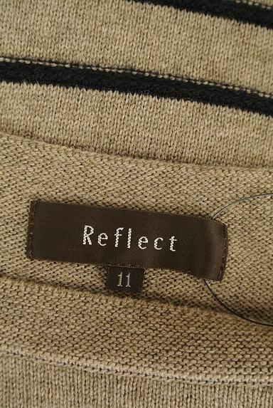 Reflect(リフレクト)の古着「グラデーションボーダーニット(セーター)」大画像6へ