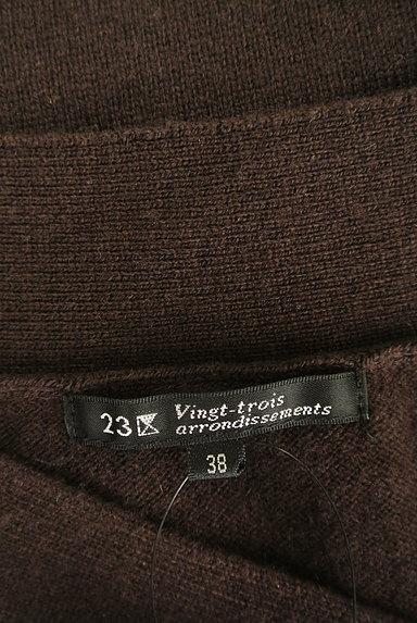 23区(23ク)の古着「無地Vネックニット(セーター)」大画像6へ