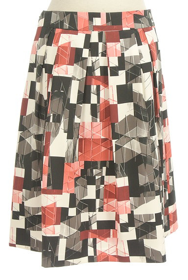 Reflect(リフレクト)の古着「総柄タックフレアスカート(スカート)」大画像2へ