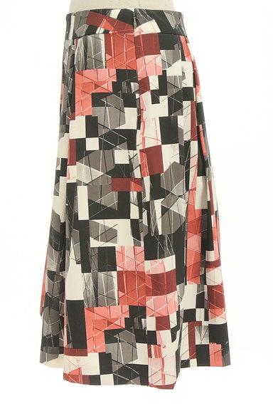 Reflect(リフレクト)の古着「総柄タックフレアスカート(スカート)」大画像3へ
