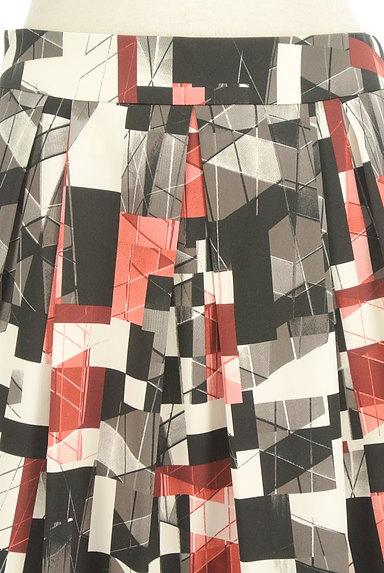 Reflect(リフレクト)の古着「総柄タックフレアスカート(スカート)」大画像4へ