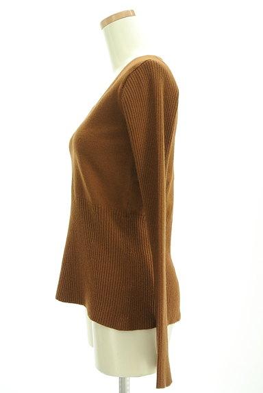Edition(エディション)の古着「リブ切替美ラインニット(セーター)」大画像3へ