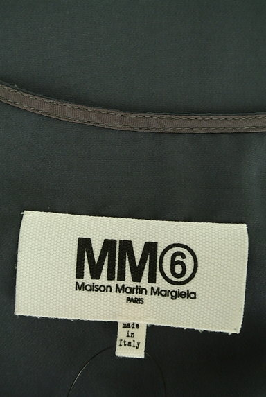 Maison Margiela(メゾンマルジェラ)の古着「配色ノースリトップス(カットソー・プルオーバー)」大画像6へ