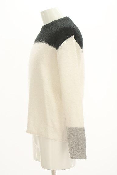 TAKEO KIKUCHI(タケオキクチ)の古着「モノトーンニット(Tシャツ)」大画像3へ