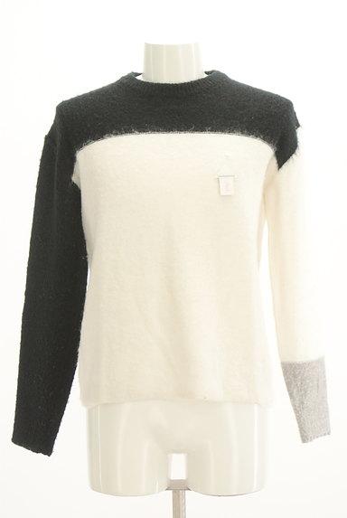 TAKEO KIKUCHI(タケオキクチ)の古着「モノトーンニット(Tシャツ)」大画像4へ