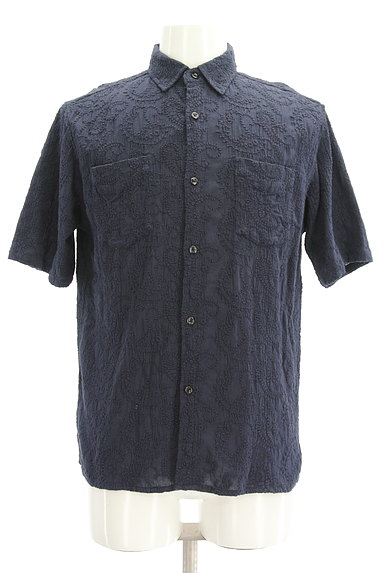 niko and...(ニコ アンド)の古着「半袖ペイズリー刺繍シャツ(カジュアルシャツ)」大画像1へ