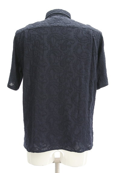 niko and...(ニコ アンド)の古着「半袖ペイズリー刺繍シャツ(カジュアルシャツ)」大画像2へ