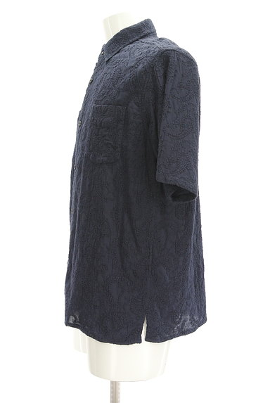 niko and...(ニコ アンド)の古着「半袖ペイズリー刺繍シャツ(カジュアルシャツ)」大画像3へ