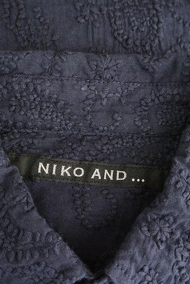 niko and...(ニコ アンド)の古着「半袖ペイズリー刺繍シャツ(カジュアルシャツ)」大画像6へ