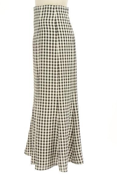Snidel(スナイデル)の古着「ギンガムマーメイドロングスカート(ロングスカート・マキシスカート)」大画像3へ