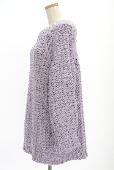 Snidel(スナイデル)の古着「手編み風ロング丈ニット(ニット)」大画像3へ