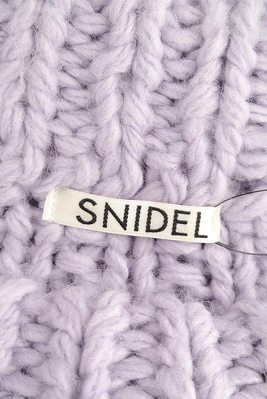 Snidel(スナイデル)の古着「手編み風ロング丈ニット(ニット)」大画像6へ