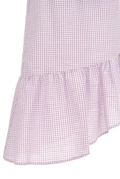 Lily Brown(リリーブラウン)の古着「イレギュラーフリルヘムスカート(ロングスカート・マキシスカート)」大画像5へ
