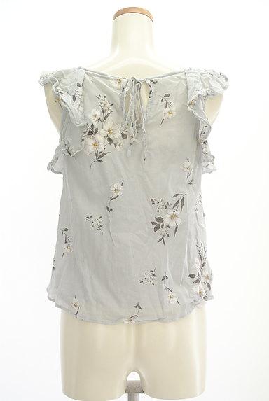 Snidel(スナイデル)の古着「花柄フリルティアードトップス(カットソー・プルオーバー)」大画像2へ