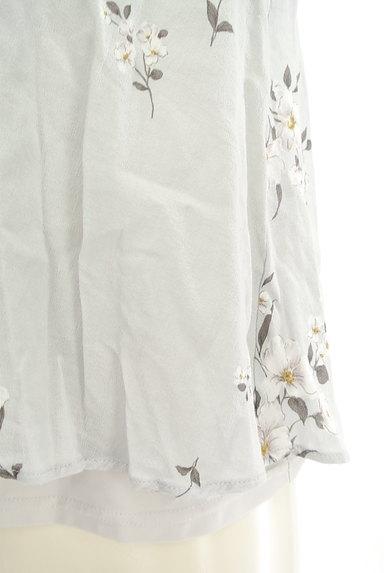 Snidel(スナイデル)の古着「花柄フリルティアードトップス(カットソー・プルオーバー)」大画像5へ