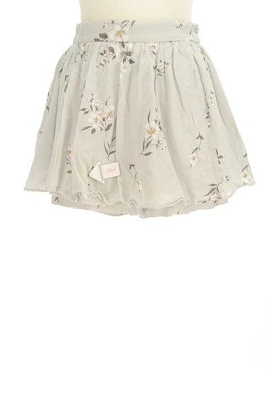 Snidel(スナイデル)の古着「花柄インナーパンツミニスカ(ショートパンツ・ハーフパンツ)」大画像4へ