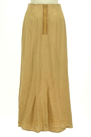 Snidel(スナイデル)の古着「シャイニーサテンロングスカート(ロングスカート・マキシスカート)」大画像2へ