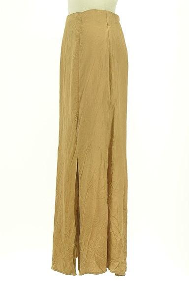 Snidel(スナイデル)の古着「シャイニーサテンロングスカート(ロングスカート・マキシスカート)」大画像3へ