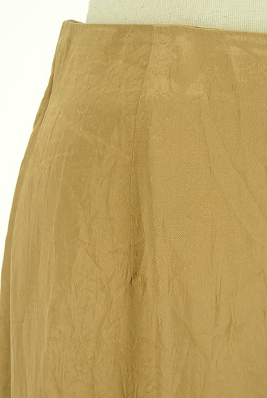 Snidel(スナイデル)の古着「シャイニーサテンロングスカート(ロングスカート・マキシスカート)」大画像4へ