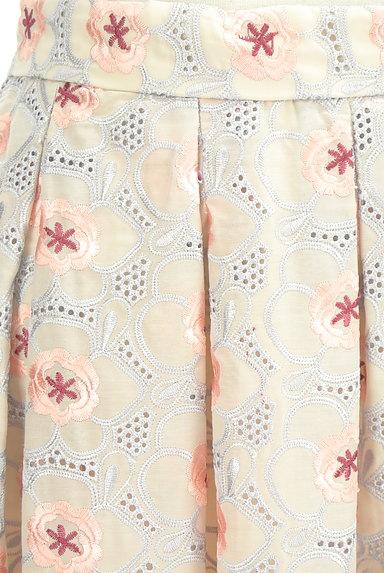 Lily Brown(リリーブラウン)の古着「フラワーカットワークミモレスカート(ロングスカート・マキシスカート)」大画像4へ
