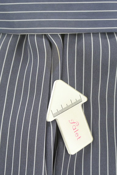 Lily Brown(リリーブラウン)の古着「ストライプタックミニスカート(ミニスカート)」大画像5へ