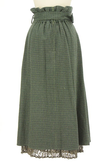 Lily Brown(リリーブラウン)の古着「ベルト付ハイウエストロングスカート(ロングスカート・マキシスカート)」大画像2へ