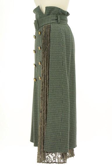 Lily Brown(リリーブラウン)の古着「ベルト付ハイウエストロングスカート(ロングスカート・マキシスカート)」大画像3へ