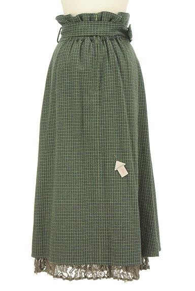 Lily Brown(リリーブラウン)の古着「ベルト付ハイウエストロングスカート(ロングスカート・マキシスカート)」大画像4へ