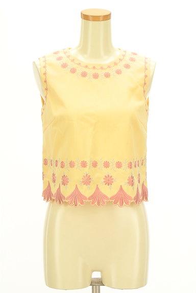 Lily Brown(リリーブラウン)の古着「刺繍フローラルカットソー(カットソー・プルオーバー)」大画像1へ