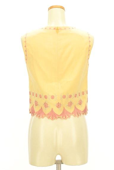 Lily Brown(リリーブラウン)の古着「刺繍フローラルカットソー(カットソー・プルオーバー)」大画像2へ