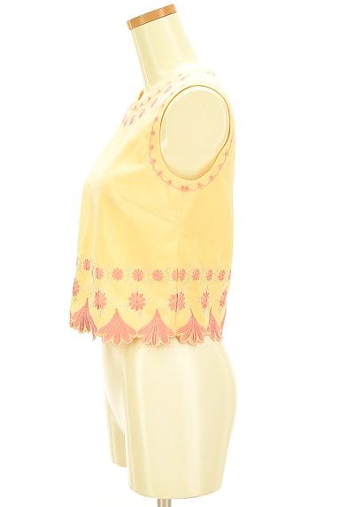 Lily Brown(リリーブラウン)の古着「刺繍フローラルカットソー(カットソー・プルオーバー)」大画像3へ