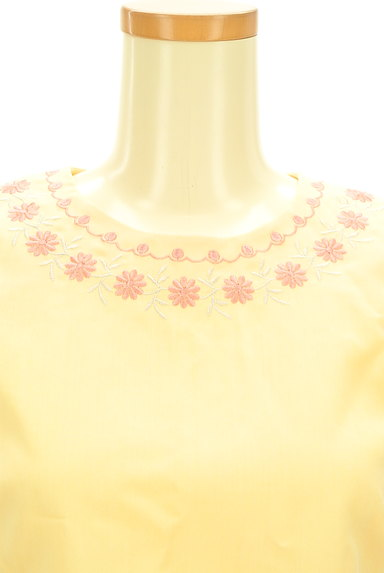 Lily Brown(リリーブラウン)の古着「刺繍フローラルカットソー(カットソー・プルオーバー)」大画像4へ