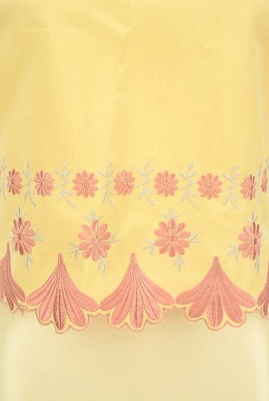 Lily Brown(リリーブラウン)の古着「刺繍フローラルカットソー(カットソー・プルオーバー)」大画像5へ