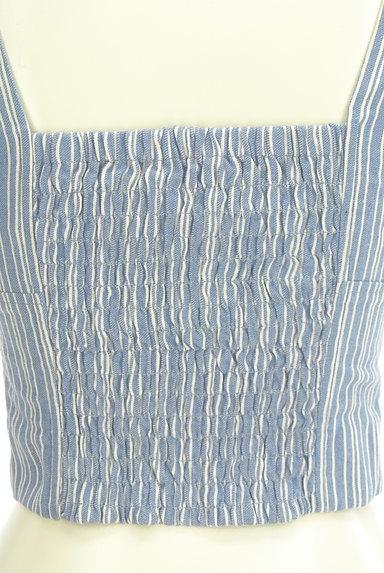 Lily Brown(リリーブラウン)の古着「刺繍ストライプコンパクトカットソー(キャミソール・タンクトップ)」大画像5へ