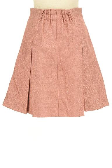 Lily Brown(リリーブラウン)の古着「タックフレアシャイニースカート(スカート)」大画像2へ