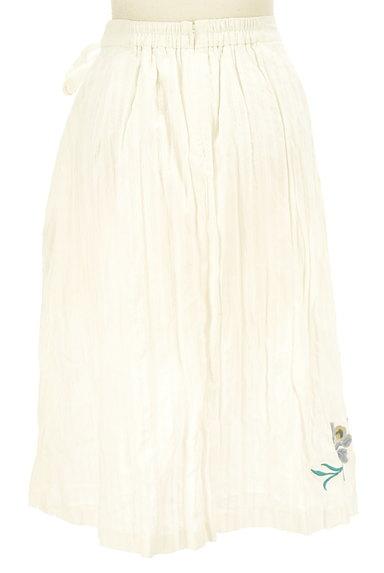 Lily Brown(リリーブラウン)の古着「フラワー刺繍コットンスカート(ロングスカート・マキシスカート)」大画像2へ
