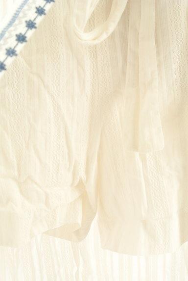 Lily Brown(リリーブラウン)の古着「フラワー刺繍コットンスカート(ロングスカート・マキシスカート)」大画像4へ
