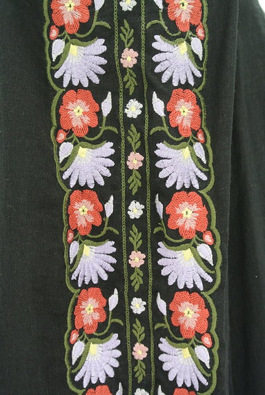 Lily Brown(リリーブラウン)の古着「ボヘミアン刺繍オフショルカットソー(カットソー・プルオーバー)」大画像5へ