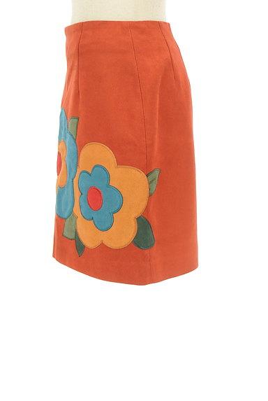 Lily Brown(リリーブラウン)の古着「レトロフラワーミニスカート(ミニスカート)」大画像3へ