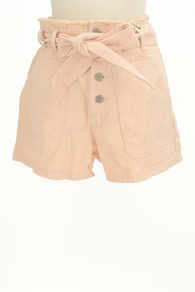 Lily Brown(リリーブラウン)の古着「カラーデニムショートパンツ(ショートパンツ・ハーフパンツ)」大画像1へ