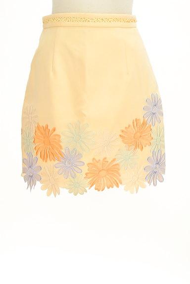 Lily Brown(リリーブラウン)の古着「刺繍スカラップヘムスカート(ミニスカート)」大画像1へ