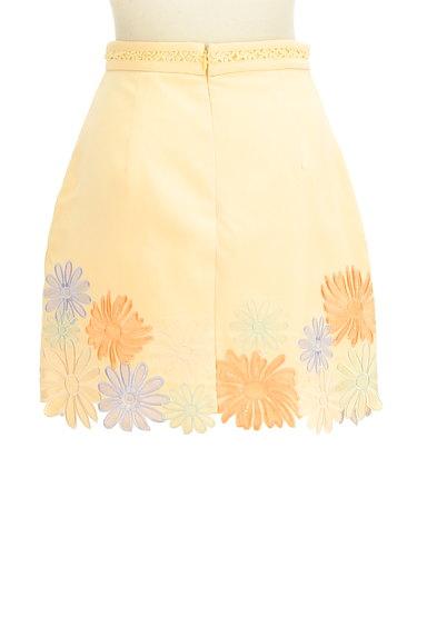 Lily Brown(リリーブラウン)の古着「刺繍スカラップヘムスカート(ミニスカート)」大画像2へ