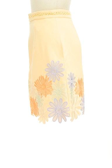 Lily Brown(リリーブラウン)の古着「刺繍スカラップヘムスカート(ミニスカート)」大画像3へ