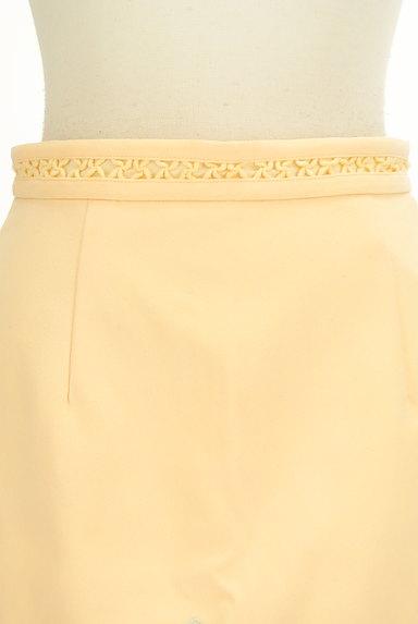 Lily Brown(リリーブラウン)の古着「刺繍スカラップヘムスカート(ミニスカート)」大画像4へ