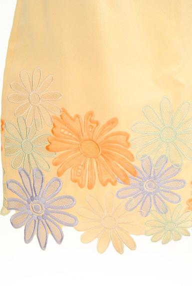 Lily Brown(リリーブラウン)の古着「刺繍スカラップヘムスカート(ミニスカート)」大画像5へ